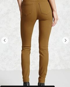 Forever 21 Tan Jeans